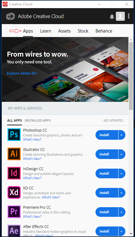 Adobe Creative Cloud Desktop Application | Department of Statistics